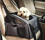 Impecgear PetComer - Transportín de Viaje para Mascotas, Aprobado por aerolíneas para Perros, Gatos, Cachorros, Mascotas pequeñas, Jaula de Viaje Suave