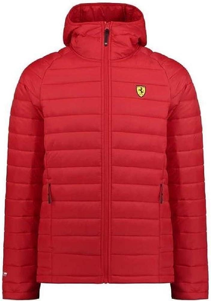 Ferrari sf herren giacchetto imbottito per  uomo con cappuccio. 130181002