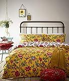 Creative Cloth Creativa De Tela Pomelo Duvet Set, Polialgodón, Amarillo, Super King, algodón poliéster