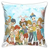 N / A Digimon Adventure - Funda de cojín para sofá, 45 x 45 cm
