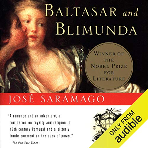 Baltasar and Blimunda audiobook cover art