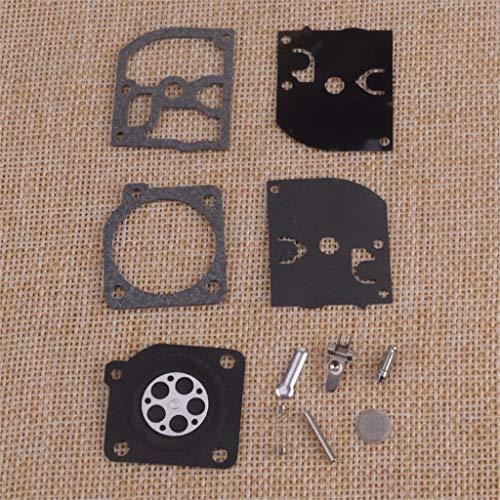 ZILMAKO Black Carburetor Repair Rebuild Kit Fit for McCulloch Mac 3200 3210 3214 3205 3514 3516 zama C1Q-H14 -H14A -H14B