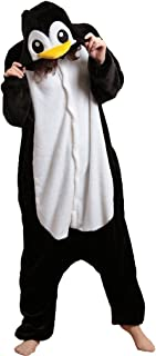 iNewbetter Fashion Fleece Penguin Oneise Adult Pajamas Cosplay Kigurumi Outfit Animal Halloween Penguin Costume Sleepwear