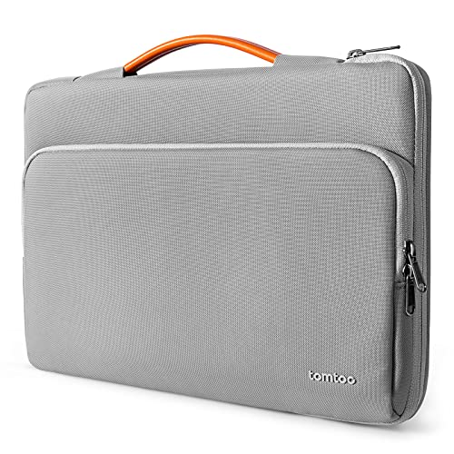 tomtoc Recycelt Laptop Tasche für 13 Zoll MacBook Air 2020 M1-2018, 13 Zoll MacBook Pro 2020 M1-2016, Surface Pro X/8/7+/7/6/5/4/3, 12,9 iPad Pro 2018-2021, 13 Zoll Notebook Hülle Aktentasche
