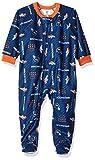 NFL Denver Broncos Unisex Blanket Sleeper, Blue, 2T
