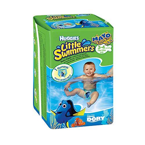 HUGGIES Little Swimmers T3-4 X12