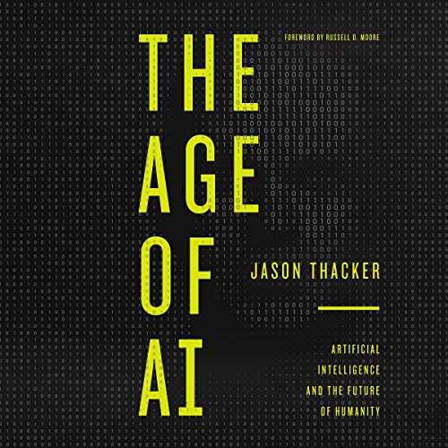 The Age of AI audiobook cover art
