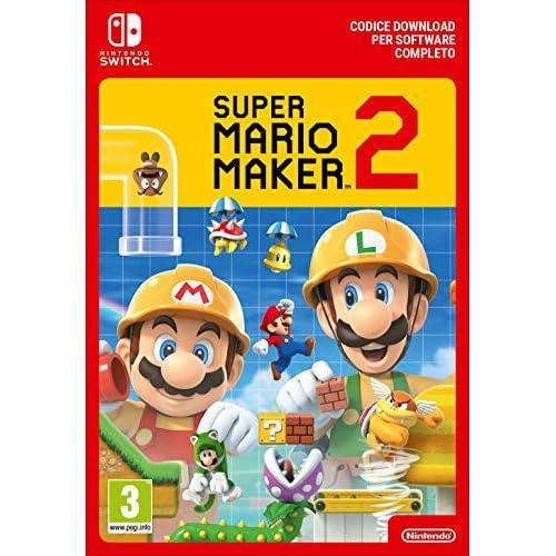 Super Mario Maker 2   Switch Download Code