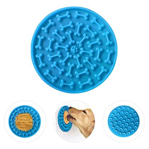 HEAPETBON Leckerli-Matte für Hunde, langsame Dosierung, Leckmatte für Hunde, Erdnussbutter, zum...