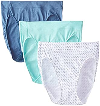 Hanes Women s 3 Pack Constant Comfort X-Temp Hi-Cut Panty Assorted 7