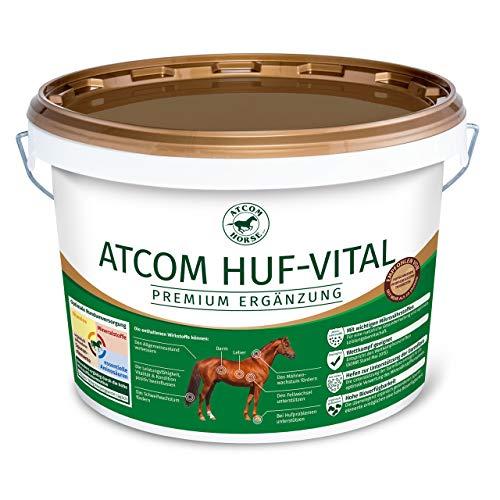 Atcom Huf-Vital 10kg - Mineralfutter zur Verbesserung der Hufqualität und des Hornwachstums bei...