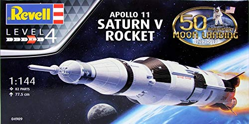 Revell Germany 04909 Apollo Saturn V Rocket