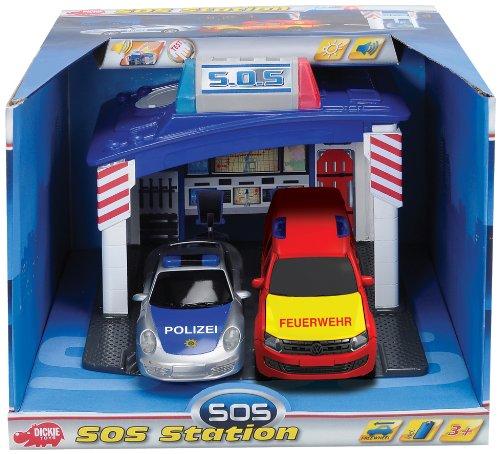 Dickie-Spielzeug 203603130 - Rettungswache