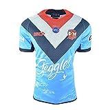 CHERSH Australie, Survêtement Coq, Costume de Rugby (Color : Sky-Blue, Size : L)