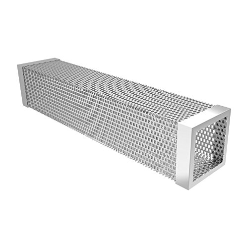 VANWALK Pellet Smoker Tube 12 Inch - Transform Your Regular Grill into a Real Smoker - Best Accessory for any Electrical, Gas, Infrared, Charcoal Grill For Both Hot or Cold Smoking