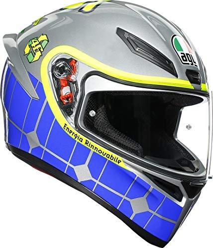 AGV K1 Rossi Mugello 2015 Casco Integral De Moto Talla MS