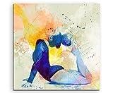 Turnen XIII 60x60cm Wandbild SPORTBILD Aquarell Art tolle
