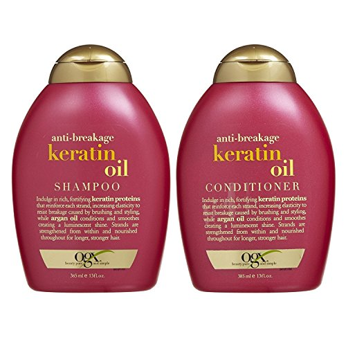 OGX Anti-breakage Keratin Oil Shampoo &...