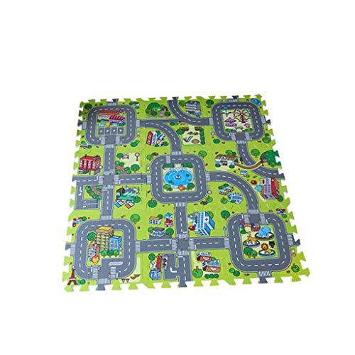 Tapis de jeu pour b/éb/é tapis de jeu pliable antid/érapant mousse de tapis de jeu XPE mousse imperm/éable /à leau extra large et r/éversible 150x180x1cm