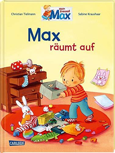 Max-Bilderbücher: Max räumt auf