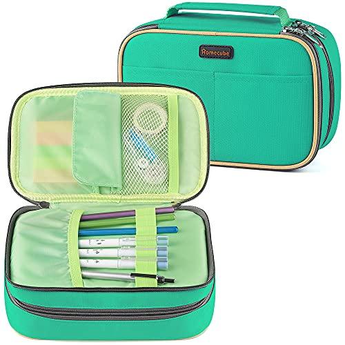 Homecube Pencil Case Large Capacity Storage Pen Bag Makeup Pouch Durable Students Stationery Case...