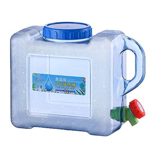 Magent 5L/8L Camping Wasserkanister mit Hahn, Tragbarer Eimer Auto Wasserbehälter Wasserspender Wassertank Kunststoff BPA-frei für Outdoor Reise Kampierendes