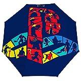 FUNKY PLAYSTATION LOGO 折りたたみ傘 梅雨対策 晴雨兼用 折り畳み傘 超撥水 軽量 強風対応 紫外線カット 日焼け止め メンズ レディース 持ち運びが簡単