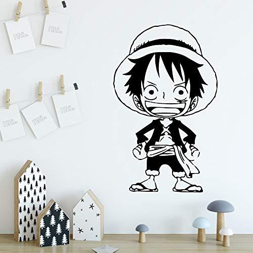 Tianpengyuanshuai Japanische Anime nautische Aufkleber Kunstaufkleber Wanddekoration Aufkleber -33X54cm