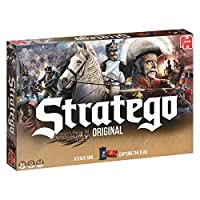 Stratego is the strategic game where you challenge your opponents in the heat of battle Your task is to capture your opponent's flag while defending your own Lead your men into battle, every move is crucial Includes 2 x 40 pre-printed playing pieces,...