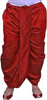 Larwa Men's Festive,Party wear Dhoti Special for Diwali