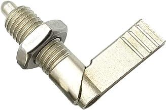 B Baosity VCN226-ANK 16-10-9 snelontgrendelingsspeld, met kogelvergrendeling, diameter van de greep van staal, zilverkleurig