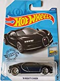 Hot Wheels 2020 Factory Fresh '16 Bugatti Chiron, Black 89/250