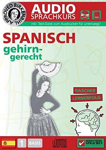 Preisvergleich Produktbild Birkenbihl Sprachen: Spanisch gehirn-gerecht,  1 Basis,  Audio-Kurs