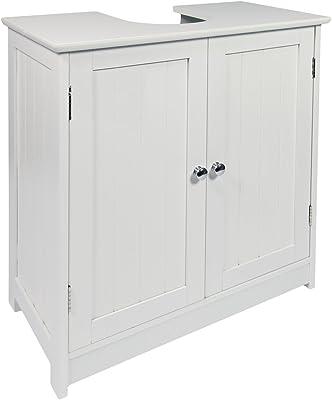 Portland Under Sink Cabinet Oak Veneer Elegant And Practical Storage Solutions