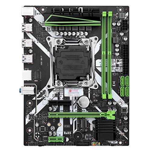 Tarjeta madre Procesadores De Computadora Placa Base Placa Base Fit For Huananzhi X99 Con Xeon E5 2620 V3 2 * 8G DDR4 2666 Non-ECC Memory Combo Kit Conjunto NVME USB3.0 ATX Server Computer Motherboard