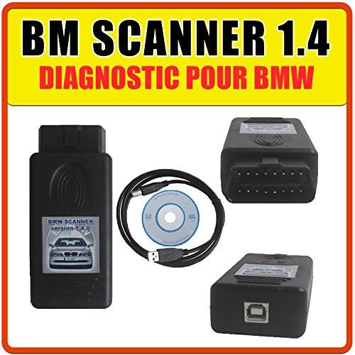 MISTER DIAGNOSTIC - Interfaz de diagnóstico OBD2 INPA K+DCAN para BMW con software
