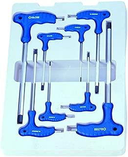 KT Pro Tools 22208MR 8-Piece L-Handle Hex Key Set