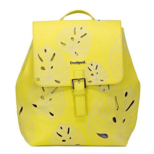 Desigual BOLS ATTALEA TORONTO 18SAXPF9 - Mochila para mujer, color Amarillo, talla Einheitsgröße