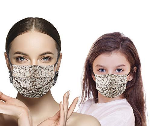 Dyeding Prodotti unisex lavabili e riutilizzabili con faccia in cotone cartone animato nero estate antipolvere e antivento prodotti per la salute personale 2pack 4pack 9pack