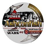 Ashconfish PEライン X8 釣り糸 200m マルチカラー