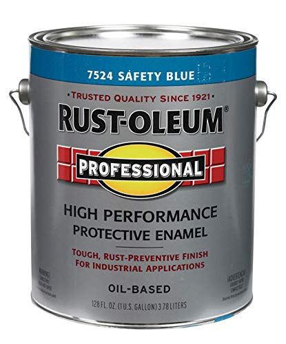 Rust-Oleum Professional Indoor and Outdoor Safety Blue Protective Paint 1 gal. - Case of: 2