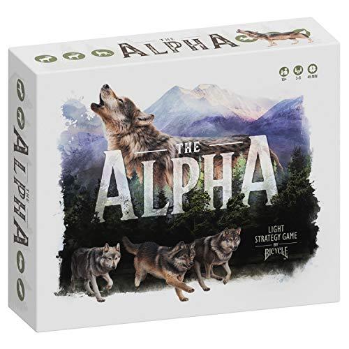 Bicycle The Alpha - Un juego de estrategia ligera para adultos y familias de 10 años en adelante