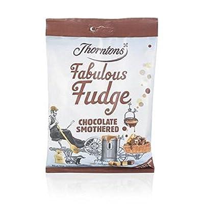 thorntons chocolate smothered fudge bag (280g) Thorntons Chocolate Smothered Fudge Bag (280g) 51zZpRaKyyL