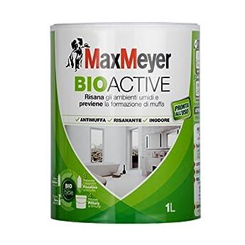 Foto di MaxMeyer Pittura per interni antimuffa Bioactive BIANCO 1 L