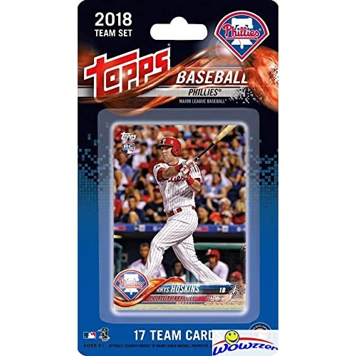 Philadelphia Phillies 2018 Topps Baseball EXCLUSIVE Special Limited Edition  17 Card Complete Team Set with Ryhs 0ec2bdbc5