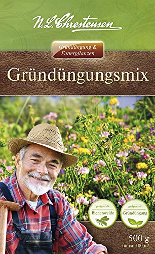 Gründüngung & Futterpflanzen - Gründüngungsmix 500g ausreichend für 50 m² - Bodenverbesserer