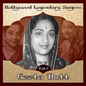 Bollywood Legendary Singers - Geeta Dutt, Vol.7