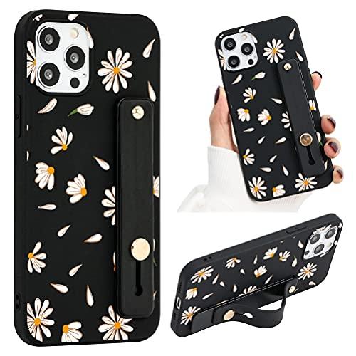 ZhuoFan Funda para Xiaomi Redmi Note 9 / 9T 5G Dibujos Negro Silicona Cárcasa con Soporte Diseño Suave TPU Antigolpes de Protectora [Moda y Practico] Case Fundas de Movil para Redmi Note 9 5G,