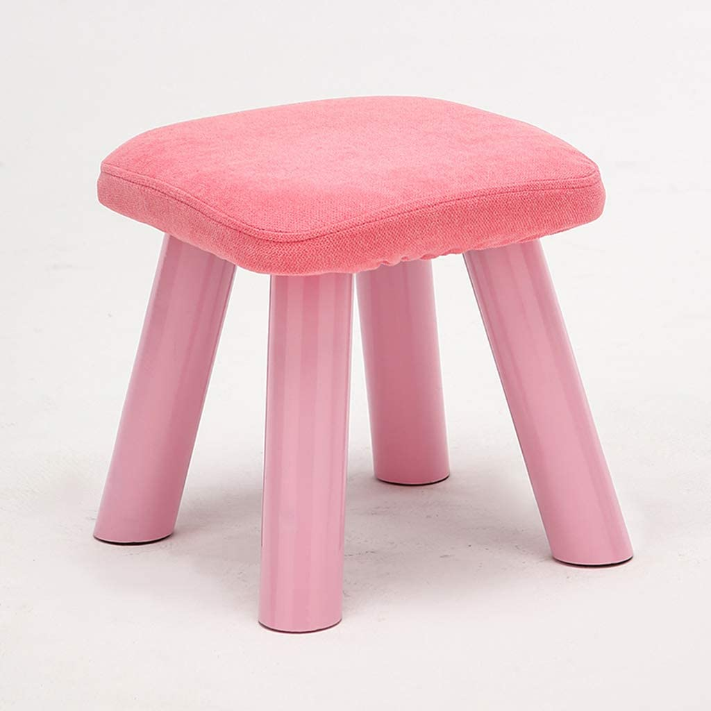 5 ☆ popular JHSLXD Shoe Changing Stool Home Fabric Seattle Mall Small Living Wooden