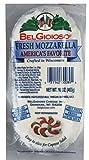 BELGIOIOSO Cheese Log Mozzarella Pearl, 16 Ounce (Pack of 8)